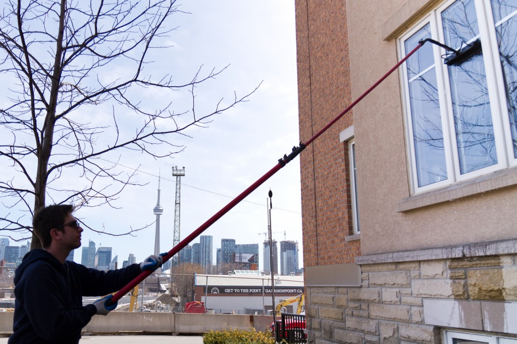 Cleaning town homes in Toronto