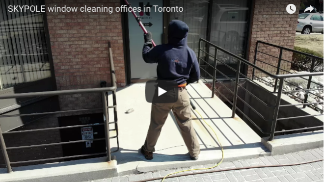Office Window Cleaning In Toronto Skypole Commercial